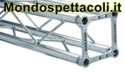 LITEC QX25100 - Traliccio in alluminio a sezione quadrata