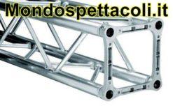 LITEC QX 30 100 - traliccio quadrato in alluminio per fari 30 cm