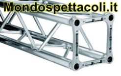 LITEC QX 30200 - struttura americana quadrata in alluminio 30 cm