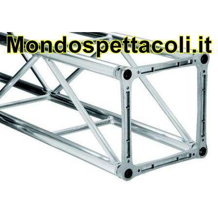 LITEC 40 300 - traliccio in alluminio quadrato 40 x 40 3 metri