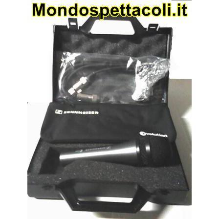 SENNHEISER E835 E 835 microfono con cavo e valigetta