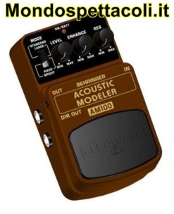 BEHRINGER ACOUSTIC MODELER AM100 - effetto a pedale