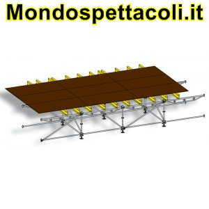 Palco layer multidirezionale 10 x 8