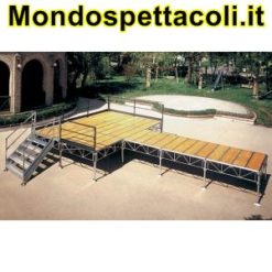 Palco modulare 6 x 8
