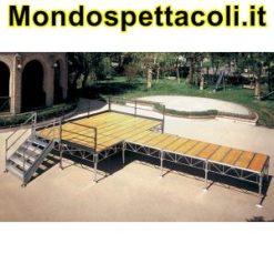 Palco modulare 8 x 10
