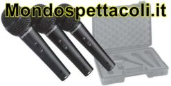 BEHRINGER ULTRAVOICE XM1800S XM 1800 S - KIT 3 MICROFONI