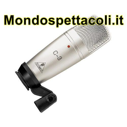 BEHRINGER STUDIO CONDENSER MICROPHONES C-3