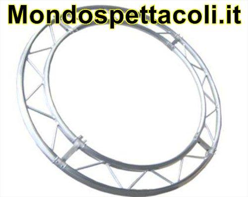 P25C2 - Cerchio con traliccio sezione piana da 25 cm L 200cm