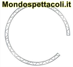 P30C3 - Cerchio con traliccio sezione piana da 29cm L 300cm