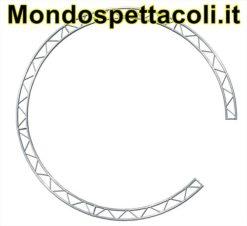 P30C4 - Cerchio con traliccio sezione piana da 29cm L 400cm