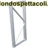 P40 - Traliccio in alluminio sezione piana da 40cm L 400cm