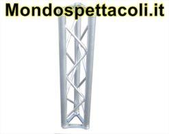 T25 - Traliccio in alluminio sezione triangolare da 25cm L 100cm