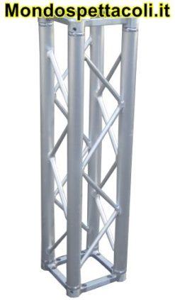 S25 - Traliccio in alluminio sezione quadrata da 25cm L 10cm