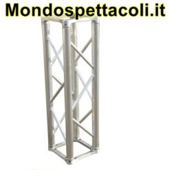 Traliccio in alluminio sezione quadrata da 29cm L 300cm