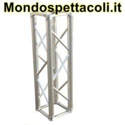 Traliccio in alluminio sezione quadrata da 29cm L 350cm