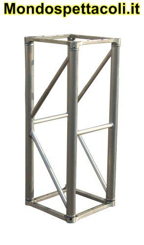 S40 - Traliccio in alluminio sezione quadrata da 40cm L 100cm