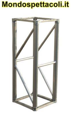 S40 - Traliccio in alluminio sezione quadrata da 40cm L 150cm