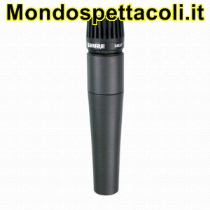 SHURE SM 57 SM57 - microfono dinamico
