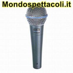 SHURE BETA 58A BETA58 - microfono per voce