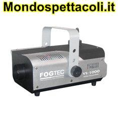 Fogtec VS-1000 - macchina fumo con radiocomando da 1000 watt