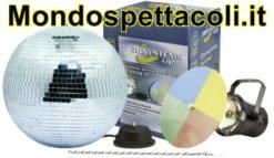 MIRROR BALL SET 30 - set sfera a specchi 30 cm