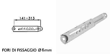 Supporto registrabile a 5 posizioni RK1205A