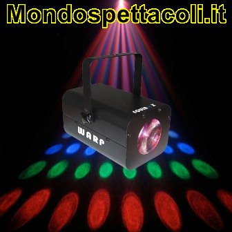 EFFETTO LUMINOSO A LED EQUINOX WARP