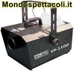 MACCHINA FUMO PROFESSIONALE Fogtec VP 2500