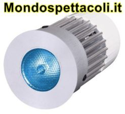 Faretto a LED da incasso LD Downlight 1W RGB