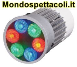 Faro proiettore a LED da incasso Downlight 6W RGB