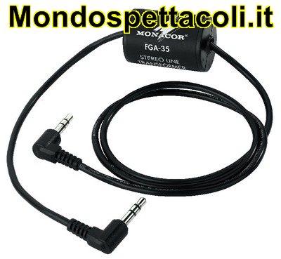 FGA-35 Trasformatore soppressore disturbi audio stereo