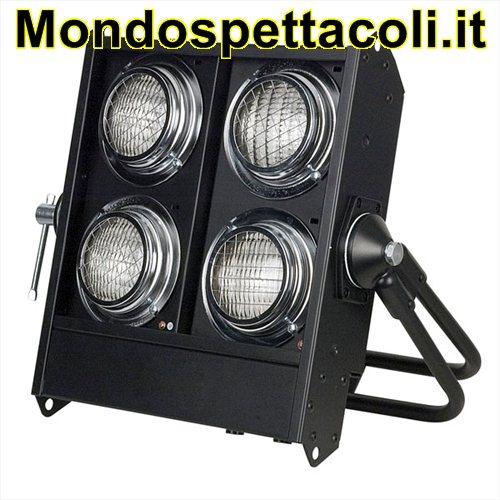 ACCECATORE DMX A 4 LAMPADE