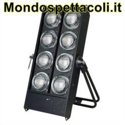 ACCECATORE DMX A 8 LAMPADE