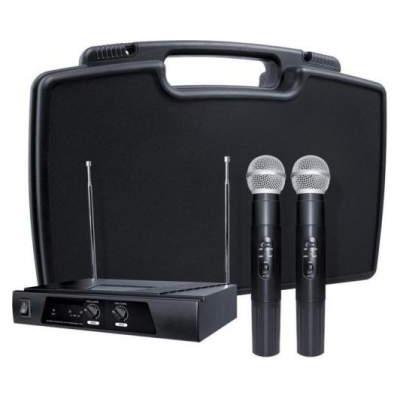 Radiomicrofono professionale doppio VHF