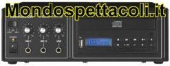 Amplificatore PA-802CD con lettore cd e usb