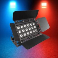 Cambiacolori a led in quadricromia 18 x 8 watt LEDJ