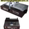 Macchina fumo 1500 watt DMX con radiocomando