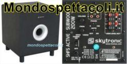 SHFS08B subwoofer attivo 200 watt