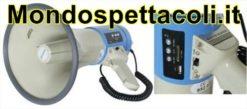 Megafono 30W con lettore USB SD MP3