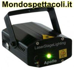 Laser multi raggi bicolore rosso verde 170 mW