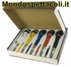 Set di 5 microfoni colorati