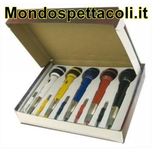 Set di 5 microfoni colorati