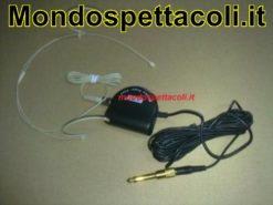 Microfono ad archetto colore carne 1,5 volt