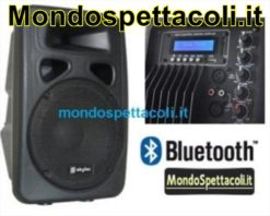 Cassa attiva con lettore MP3 SD Bluetooth
