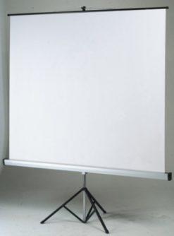 Schermo maxi a cavalletto 240 x 200 maxischermo per proiezione