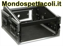 Case a rack per mixer 4U x 10U