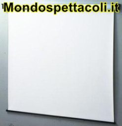 Telo da proiezione manuale 180 x 135 schermi 4:3  pannello