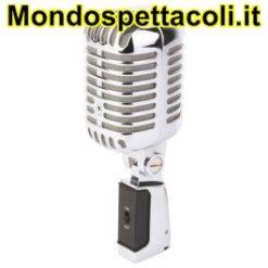 Microfono per cantare in stile retro vintage PDS-M02