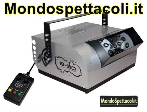 Macchina per le Bolle Fogtec B30 Bubble Machine
