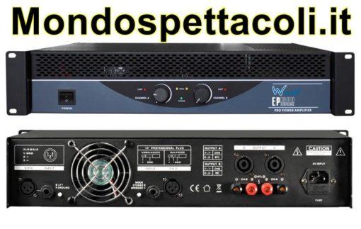 W Audio EP 1300 Amplificatore